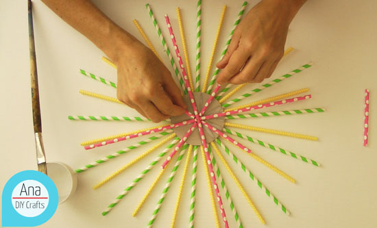Straws ornament