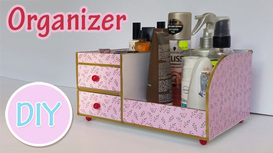 Bedside Table Organizer