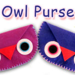 DIY Owl coin purse