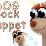 Dog sock Puppet