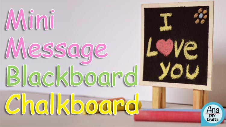Mini Message Blackboard Chalkboard