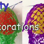 Party DIY Decorations - Decorated Balloons Garland