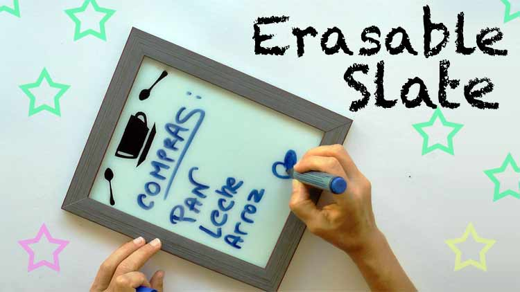 DIY Erasable Slate