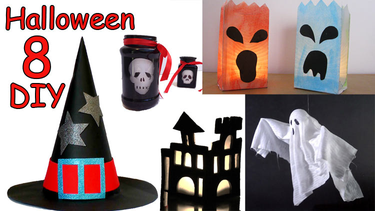 DIY Easy Halloween ideas