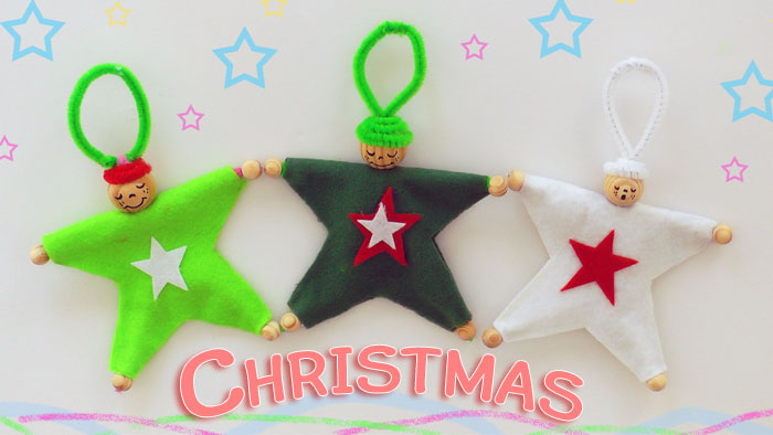 christmas ornaments - star