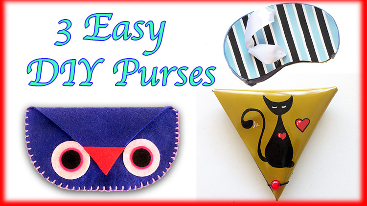 easy DIY purses